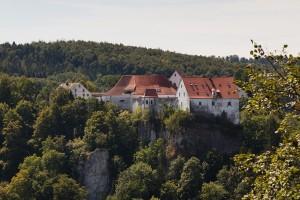 Burg Wildenstein vom Bandfelsen