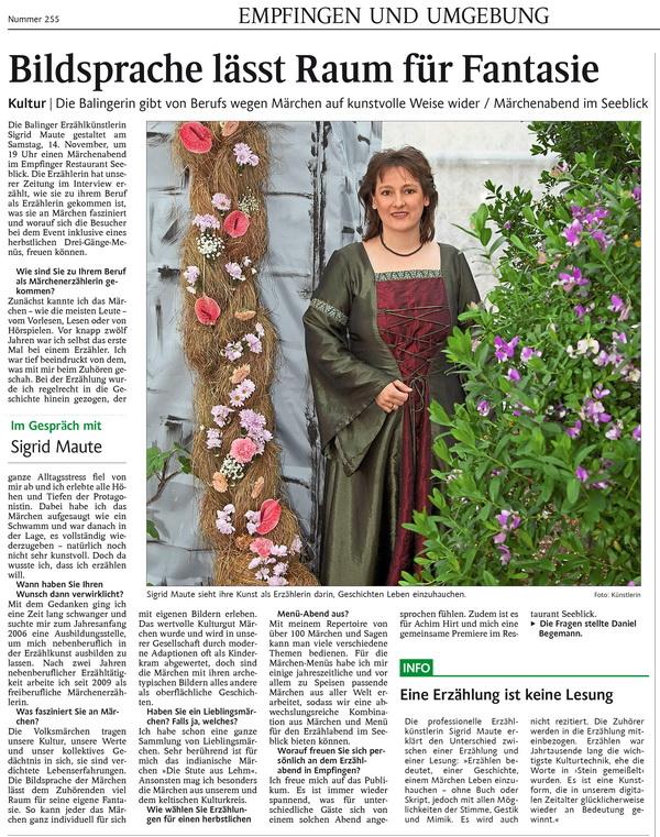 Artikel im Schwarzwälder Bote